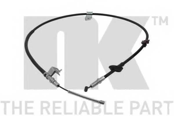 Трос стояночной тормозной системы NK 902638 - изображение