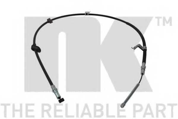 Трос стояночной тормозной системы NK 902639 - изображение
