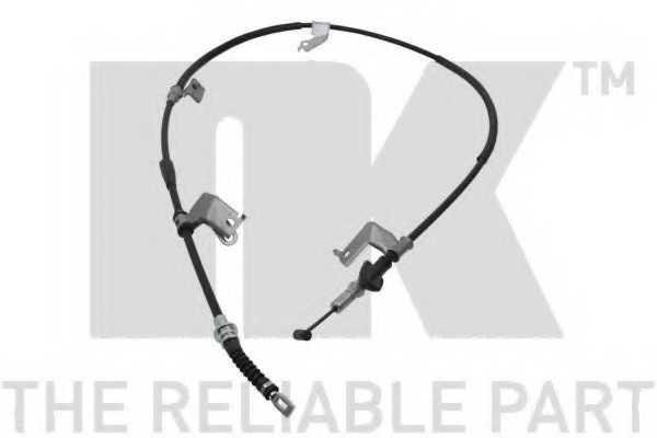 Трос стояночной тормозной системы NK 902641 - изображение