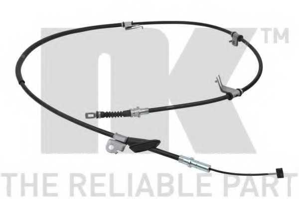 Трос стояночной тормозной системы NK 902642 - изображение