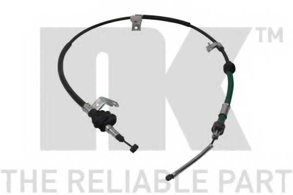 Трос стояночной тормозной системы NK 902645 - изображение