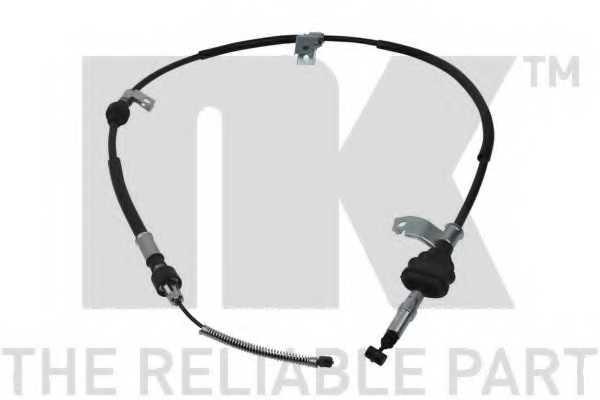 Трос стояночной тормозной системы NK 902646 - изображение