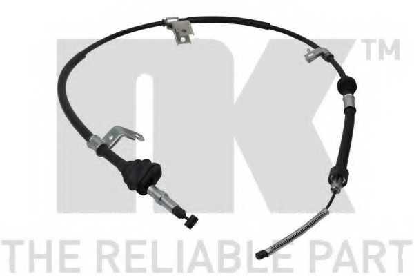 Трос стояночной тормозной системы NK 902647 - изображение