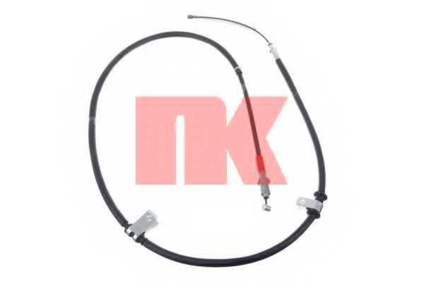 Трос стояночной тормозной системы NK 903014 - изображение