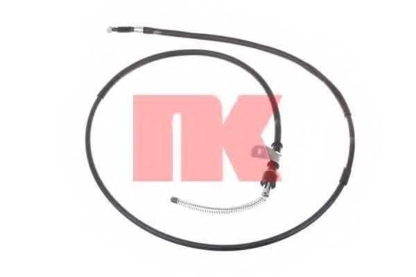 Трос стояночной тормозной системы NK 903015 - изображение