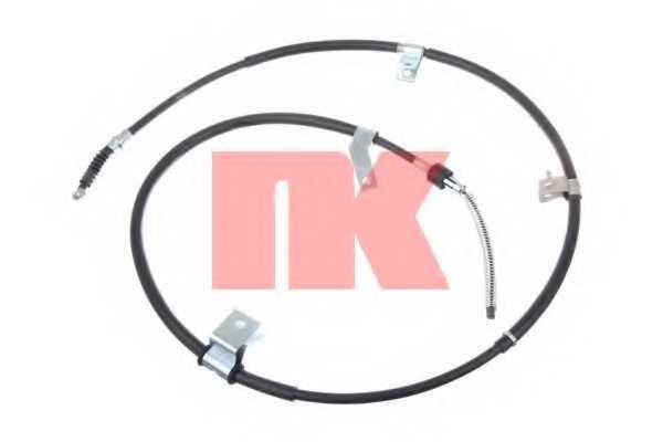 Трос стояночной тормозной системы NK 903018 - изображение
