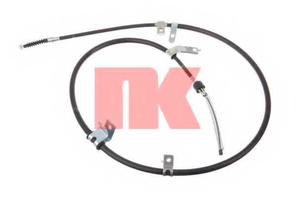 Трос стояночной тормозной системы NK 903019 - изображение