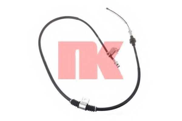Трос стояночной тормозной системы NK 903021 - изображение