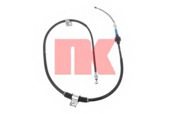 Трос стояночной тормозной системы NK 903022 - изображение