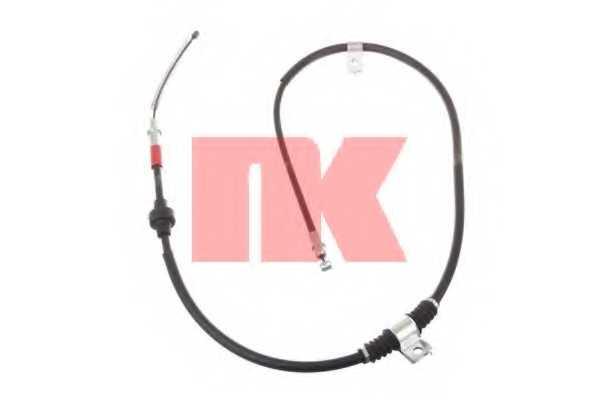Трос стояночной тормозной системы NK 903023 - изображение