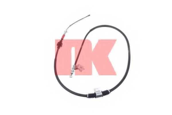 Трос стояночной тормозной системы NK 903024 - изображение
