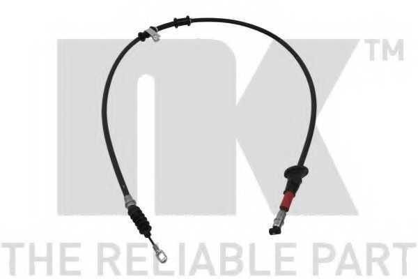 Трос стояночной тормозной системы NK 903025 - изображение