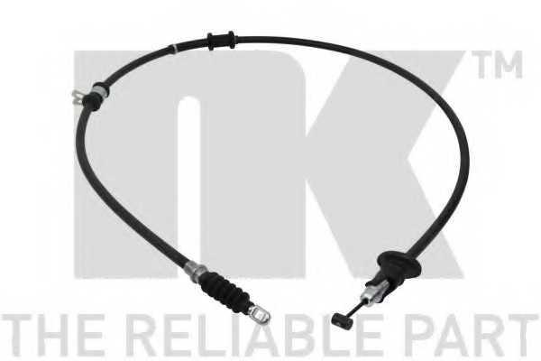 Трос стояночной тормозной системы NK 903027 - изображение