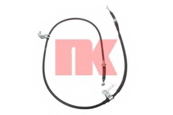 Трос стояночной тормозной системы NK 903257 - изображение