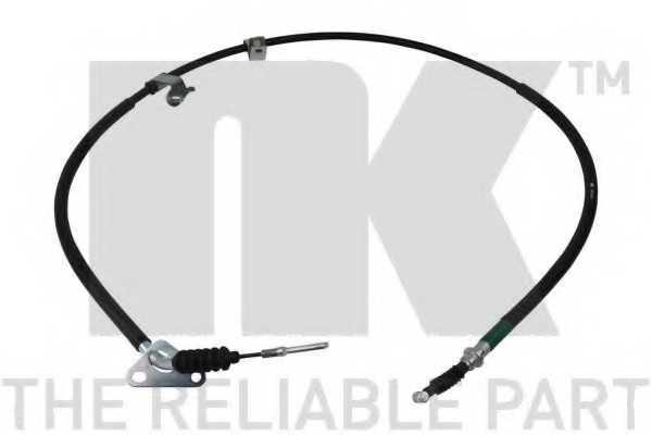 Трос стояночной тормозной системы NK 903263 - изображение
