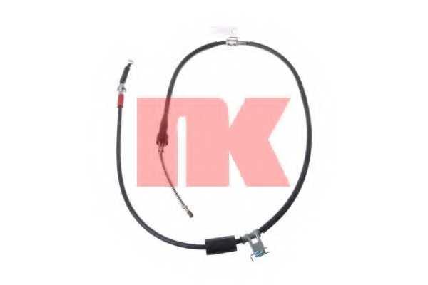 Трос стояночной тормозной системы NK 903267 - изображение