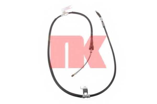 Трос стояночной тормозной системы NK 903268 - изображение