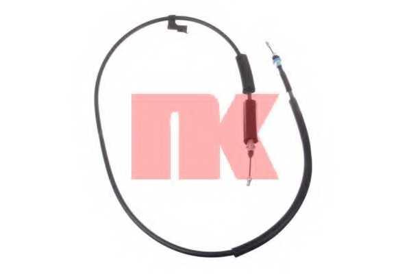 Трос стояночной тормозной системы NK 903278 - изображение