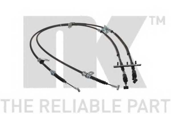 Трос стояночной тормозной системы NK 903280 - изображение