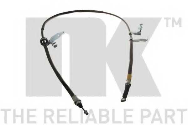 Трос стояночной тормозной системы NK 903281 - изображение