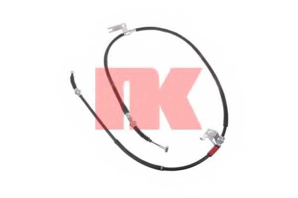 Трос стояночной тормозной системы NK 903288 - изображение