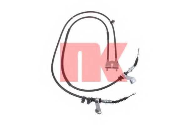 Трос стояночной тормозной системы NK 903289 - изображение