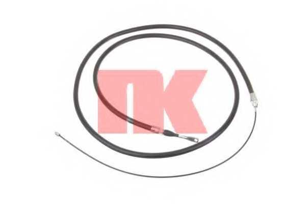 Трос стояночной тормозной системы NK 903319 - изображение