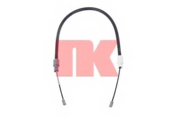 Трос стояночной тормозной системы NK 903335 - изображение