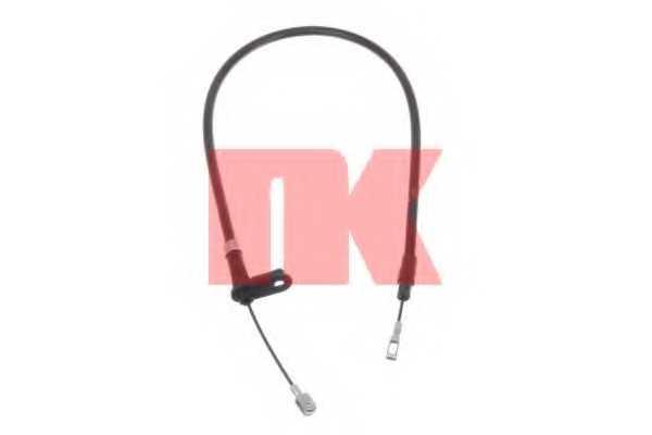 Трос стояночной тормозной системы NK 903337 - изображение