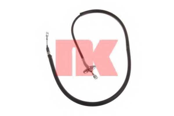 Трос стояночной тормозной системы NK 903344 - изображение