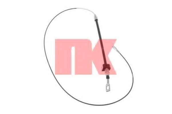Трос стояночной тормозной системы NK 903346 - изображение