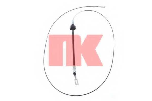 Трос стояночной тормозной системы NK 903347 - изображение