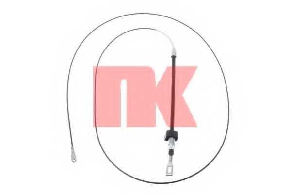 Трос стояночной тормозной системы NK 903350 - изображение