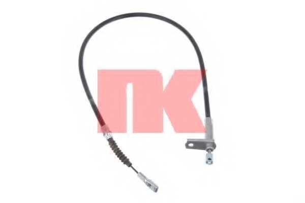 Трос стояночной тормозной системы NK 903358 - изображение