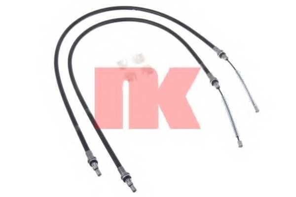 Трос стояночной тормозной системы NK 903363 - изображение