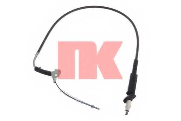 Трос стояночной тормозной системы NK 903364 - изображение