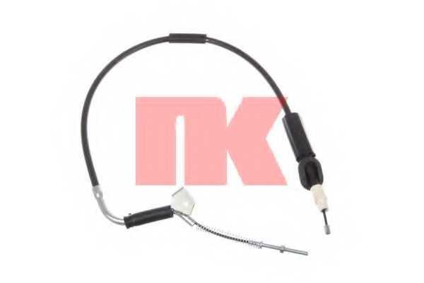 Трос стояночной тормозной системы NK 903377 - изображение