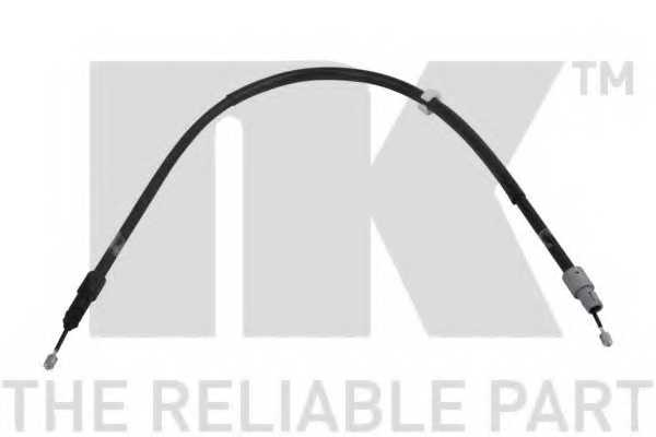 Трос стояночной тормозной системы NK 903378 - изображение