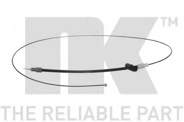 Трос стояночной тормозной системы NK 903384 - изображение