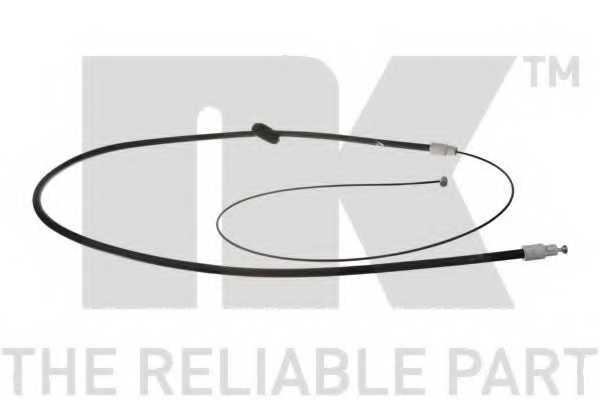 Трос стояночной тормозной системы NK 903389 - изображение