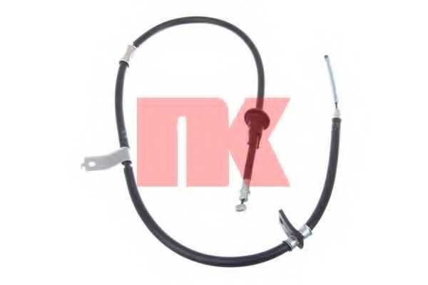 Трос стояночной тормозной системы NK 903404 - изображение
