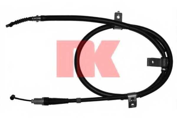 Трос стояночной тормозной системы NK 903405 - изображение