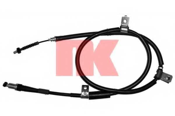 Трос стояночной тормозной системы NK 903406 - изображение
