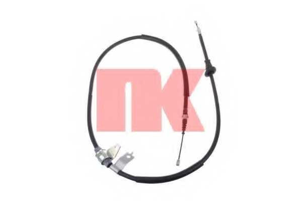 Трос стояночной тормозной системы NK 903407 - изображение