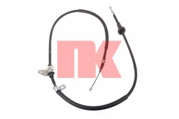 Трос стояночной тормозной системы NK 903408 - изображение