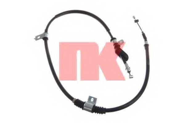Трос стояночной тормозной системы NK 903418 - изображение