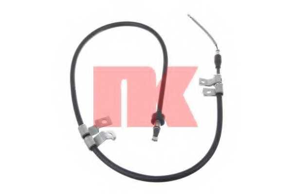 Трос стояночной тормозной системы NK 903422 - изображение