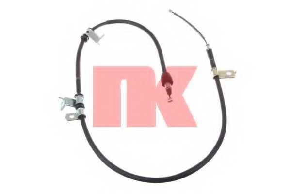 Трос стояночной тормозной системы NK 903425 - изображение