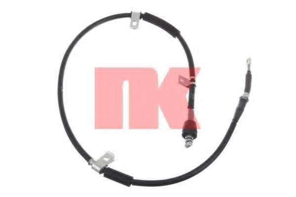 Трос стояночной тормозной системы NK 903430 - изображение