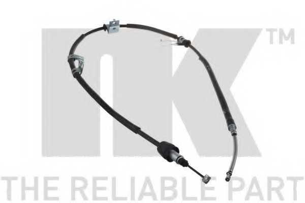 Трос стояночной тормозной системы NK 903435 - изображение
